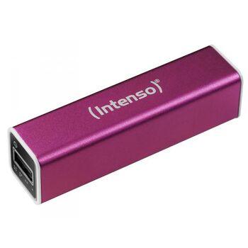 Intenso Powerbank A2600 Mobiler Akku 2600mAh (pink)