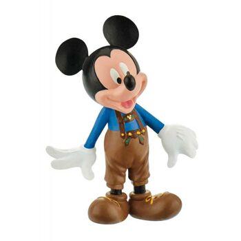Bullyland 15390 - Walt Disney Mickey in Lederhose - Spielfigur