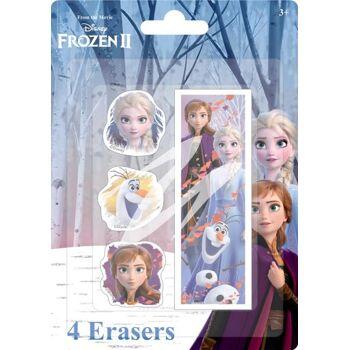 Disney Frozen 2 / Die Eiskönigin 2 - Radierer 4er-Set