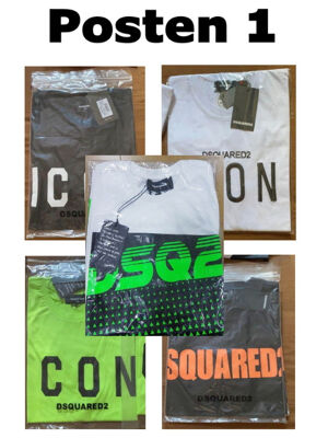 Dsquared2 Tshirt bedruckte Kurzarm Shirt Sonderposten für Outlet Bekleidung T-shirt Mix Neuware