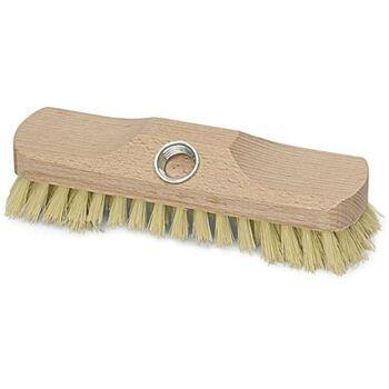 Schrubber 2 Loch L.220mm Holz mit Bart und Gewinde Kunststoff-Fibre