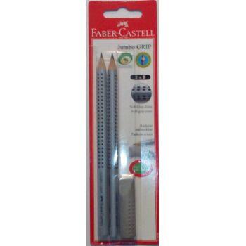 12-111999, Faber Castell Jumbo Grip Bleistifte 2er Set mit Radierer