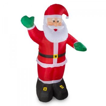 Weihnachtsmann aufblasbar 240cm