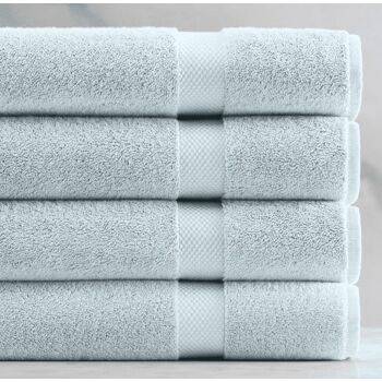Handtücher / Handtuch / Duschtücher / Duschtuch / Towels / 4 pieces in 1 Set / Size 70x140 - 100% Cotton, 550 g/m², Oeko-Tex Certificate!