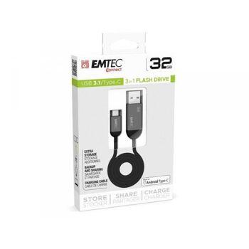 USB FlashDrive 32GB EMTEC T750 USB3.1 Type-C Dual