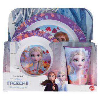 Disney Frozen 2 / Die Eiskönigin 2 - 3 - teiliges Geschirrset