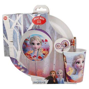 Disney Frozen 2 / Die Eiskönigin 2  - 3-teiliges Geschirrset