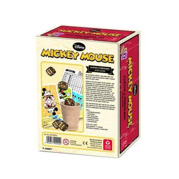 Disney Mickey Mouse - Karten- & Würfelbox, Retro-Edition