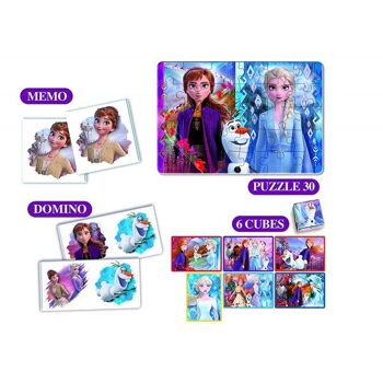 Disney Frozen 2 / Die Eiskönigin 2 - Edukit 4 in 1
