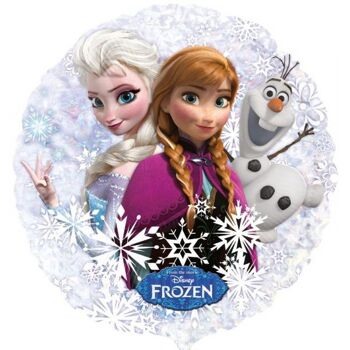 Folienballon Frozen Mix rund