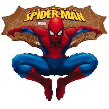 Folienballon Spiderman gold