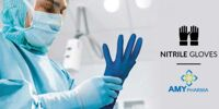 Amy Nitril Hand Gloves Handschuhe - Amy Group Autorisierter Händler für EU - EN455/ ISO/ CE/ FDA/ ISO/ SGS/ 100% LC - Fake Listen Beachten