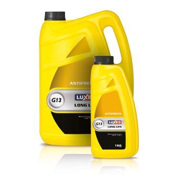 Frostschutzmittel LUXE G13 Yellow Line ist ein erstklassiges Produkt, das die fortschrittlichsten technischen Vorschriften der EU-Länder erf
