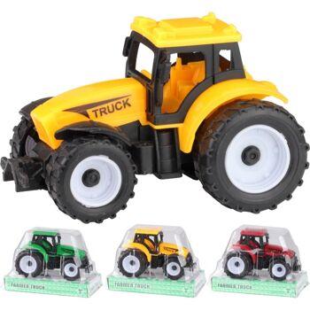 28-264004, Farmer Traktor mit Antrieb / Rückzugmechanismus