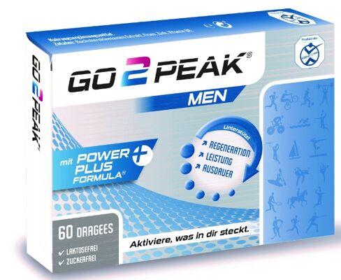 Go2Peak für mehr Ausdauer, Leistung und Kraft - diätetisches Lebensmittel