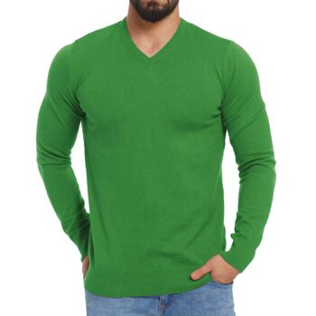 Pullover V-Ausschnitt Baumwolle