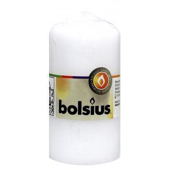 Bolsius Stumpenkerze Weiß