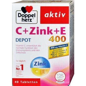 Doppelherz C + Zink+ E Depot