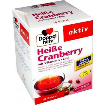 Doppelherz Heiße Cranberry mit Vitamin C + Zink