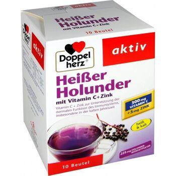 Doppelherz Heißer Holunder mit Vitamin C + Zink