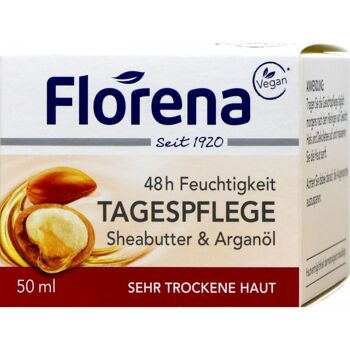 Florena Gesicht Sheabutter Tagescreme