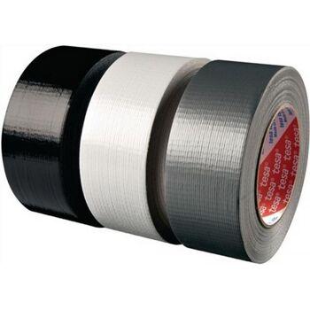 Klebeband 4613 Länge 50m Breite 48mm schwarz PE-beschichtet tesa, 24 Stück