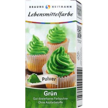 Lebensmittelfarbe Grün