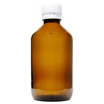 Medizinflasche Braun mit Verschluss