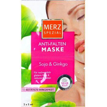 Merz Spezial Anti-Falten Maske Soja & Ginkgo