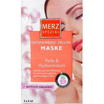 Merz Spezial Deluxe Maske Perle & Hyaluronsäure