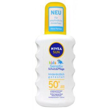 Nivea Sun Sonnenspray Kids Protect and Sensitive  LSF 50+