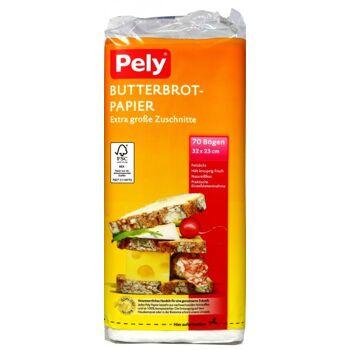 Pely Brotpapier Geschnitten