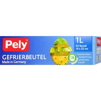 Pely Gefrierbeutel Rolle 1 l