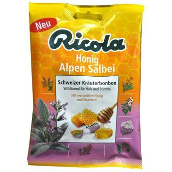 Ricola Alpen Salbei Honig Schweizer Kräuterbonbon