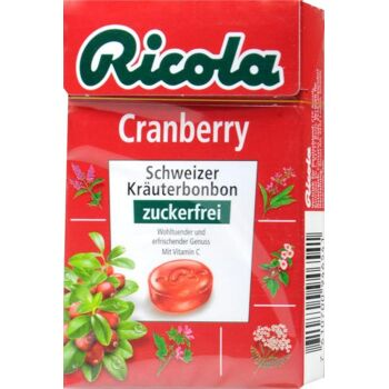 Ricola Böxli Cranberry Zuckerfrei