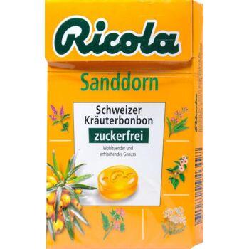 Ricola Böxli Sanddorn Zuckerfrei