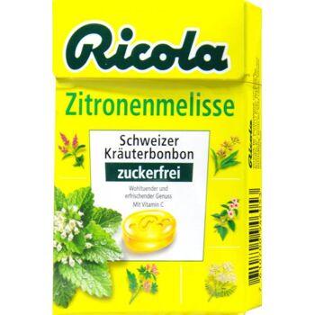 Ricola Böxli Zitronenmelisse Zuckerfrei