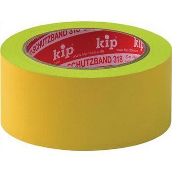 Schutzband Länge 33m Breite 50mm gelb Weich-PVC-Folie 318-15, 6 Stück