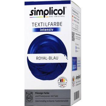 Simplicol Intensiv Textilfarbe Royal-Blau