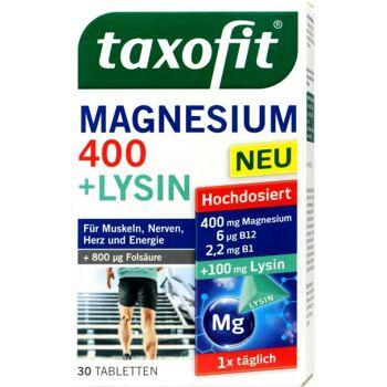 Taxofit Magnesium 400 mg + Lysin