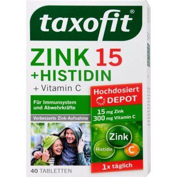 Taxofit Zink und Histidin Depot Tabletten