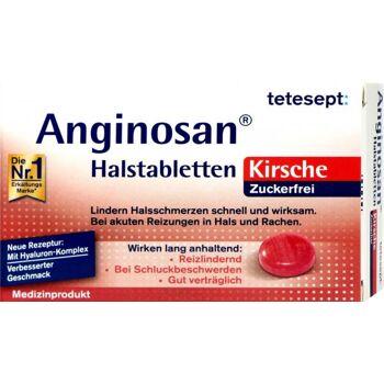 Tetesept Anginosan Halstabletten Kirsche Zuckerfrei