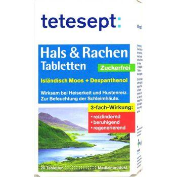 Tetesept Hals Tabletten Isländisch Moos Zuckerfrei