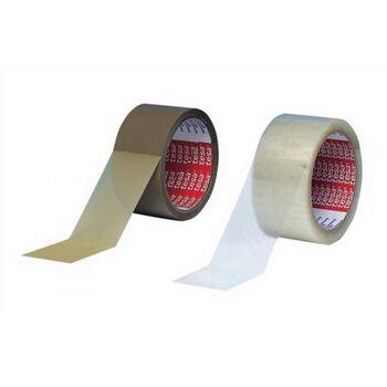 Verpackungsklebeband 4280 Länge 66m Breite 50mm transparent PP-Folie tesa, 6St.