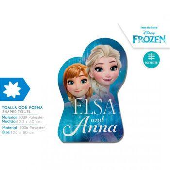 Disney Frozen/ Die Eiskönigin - Form-Badetuch