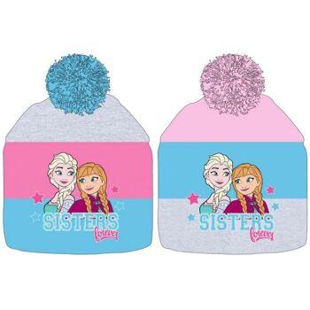 Disney Frozen / Die Eiskönigin - Wintermütze, 2fach-sort.