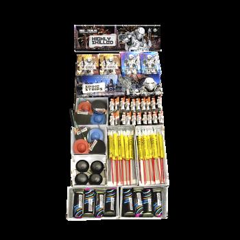 Feuerwerk Silvester Aktions Box Batteriefeuerwerk Raketensortimente für Restaurant Hotel Privatfeier - jetzt Bestellen - sofort lieferbar*