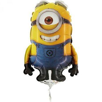 Folienballon Minions Stuart Mini Shape