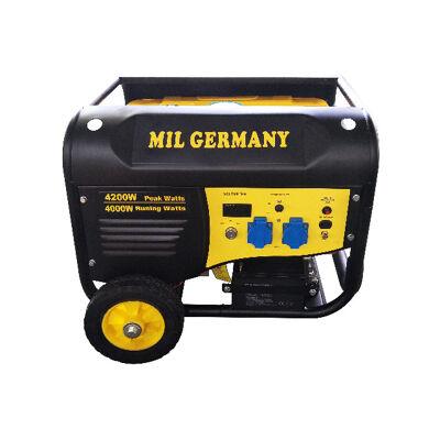 MIL Germany MGP4200 Stromgenerator Generator Benzingenerator Stromerzeuger Notstromaggregat