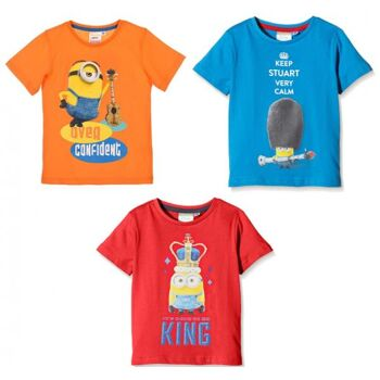 Minions - Kinder - T-Shirt Sortiment